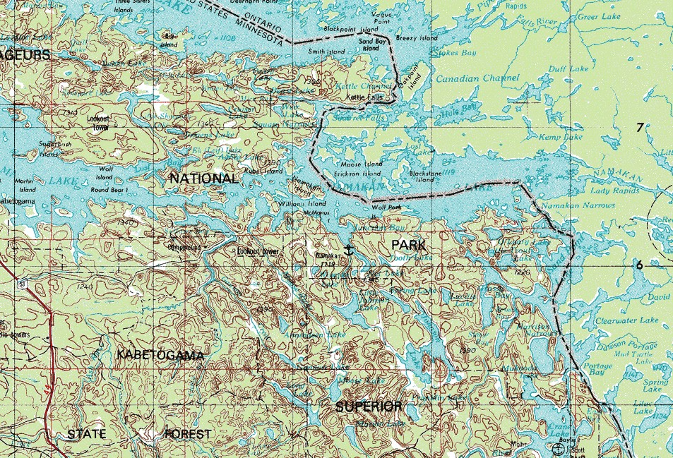 Map Northern Minnesota Commercial Homes For Sale Residential And - Dnr topo maps